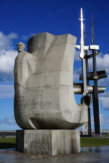 Joseph Conrad Denkmal