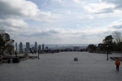 Aussichtsterasse auf dem Mont Royal