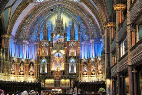 Notre-Dame-Basilika Innenansicht