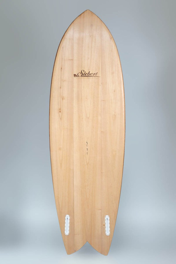 "Corky Fish 5'9"" Siebert Woodcraft Surfboards"