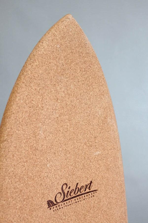 "Corky Singlefin 5'8""-6'2"" Siebert Woodcraft Surfboards"