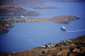 Baie plan large - Patmos - 3 îles grecques - Destination, Grèce