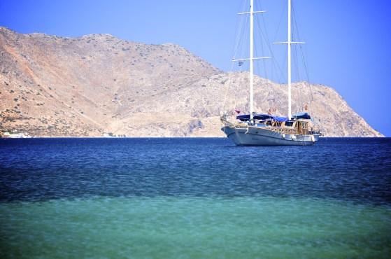 Bateau, Océan - Syros - 3 îles grecques - Destination, Grèce