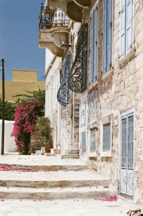 Mur, Architecture - Syros - 3 îles grecques - Destination, Grèce