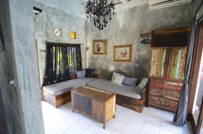Salon - Une villa à Bali - Hôtel, Bali