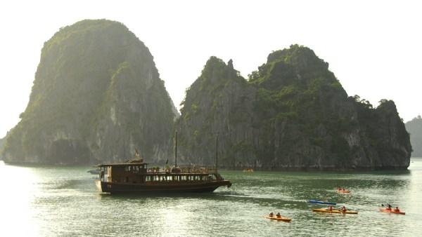 La Baie d'Halong - vietnam, asie, a-faire