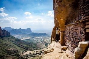 Abunah Yemata falaise - Des eglise uniques au monde, ethiopie - afrique, ethiopie