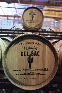 Baril - Delbac Whiskey - Tout sur Tucson - Amérique, États-Unis, Arizona
