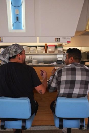 Clients comptoir - Welcome Diner - Tout sur Tucson - Amérique, États-Unis, Arizona