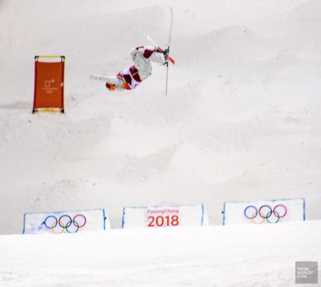 kingsbury ski de bosses olympique pyeongchang 2018 or - PyeongChang, le ski de bosses! - Un petit saut aux Olympiques - Asie, Corée du Sud