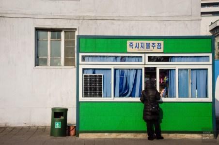 kiosque bouffe - Les Nords-Coreens - Coree du Nord, l'envers de la medaille - Asie, Coree du Nord