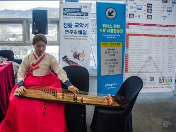 musique traditionnel instrument spectacle - Train haute vitesse - Un petit saut aux Olympiques - Asie, Corée du Sud