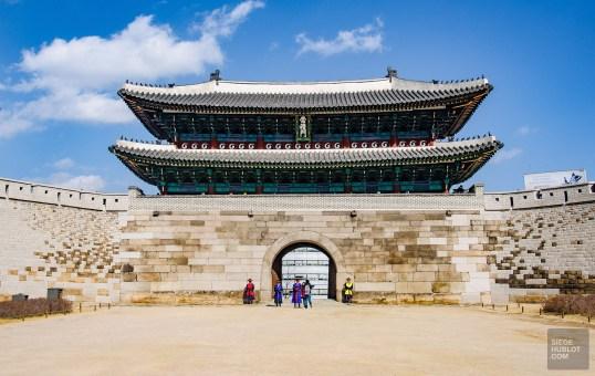 porte sud soldats seoul ville - Seoul - Un petit saut aux Olympiques - Asie, Corée du Sud