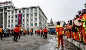 volleyball - Les Nords-Coreens - Coree du Nord, l'envers de la medaille - Asie, Coree du Nord