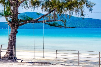 balancoire - Un paradis secret, Koh Rong Samloem, Cambodge - Asie, Cambodge