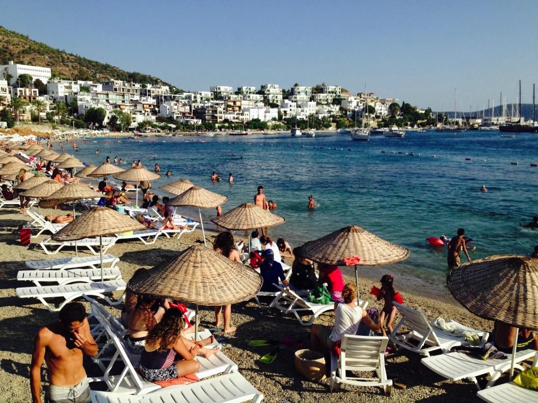 Bodrum plage - Bodrum - Les îles grecques - Europe, Grèce