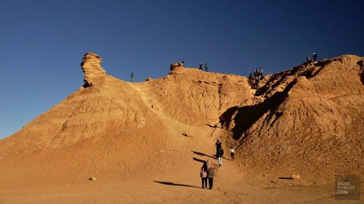 dunes sable - Nefta - Tunisie, de la mer au désert - Afrique, Tunisie