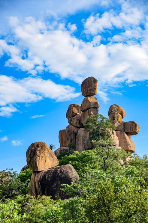 formation rocheuse 2 - parc national de matobo - Zimbabwe, les chutes Victoria et plus encore! - afrique, zimbabwe