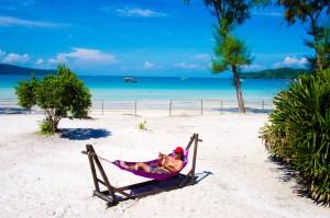 hamac privé - Un paradis secret, Koh Rong Samloem, Cambodge - Asie, Cambodge