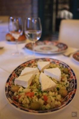 tunis restaurant salade olives - Dar El Jeld - Tunisie, de la mer au désert - Afrique, Tunisie