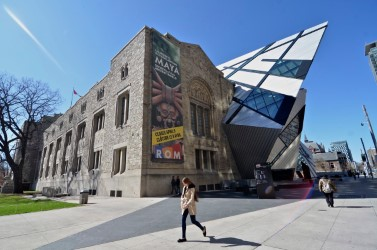 rom façade architecture libeskind - Musée royal de l'Ontario - Séjour à Toronto - Amérique, Canada, Ontario