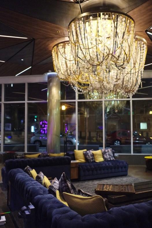 Lobby Envoy hotel - Envoy Hotel - L'émergent Seaport District à Boston - Amérique, États-Unis, Massachusetts