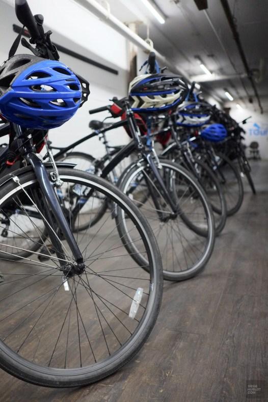 vélos casques - Toronto Bicycle Tours - Séjour à Toronto - Amérique, Canada, Ontario