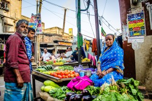 marchand legumes - kolkata - L Inde du Nord en quatre étapes - Asie, Inde