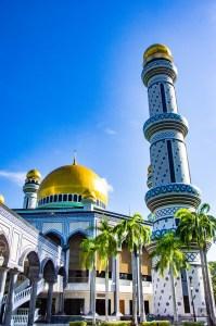 mosquee Asr Hassanil Bolkiah 2 - Sultanat de Brunei Darussalam - Asie, Brunei