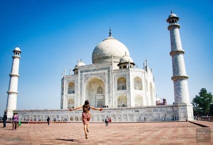 taj mahal bonheur - agra - L Inde du Nord en quatre étapes - Asie, Inde