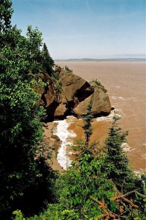 Hopewell Rocks - Nouveau-Brunswick - Le Canada dans ma langue - Amérique du Nord, Canada
