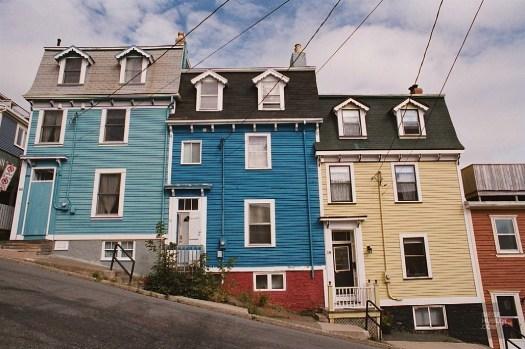 St-John façade - Terre-Neuve - Le Canada dans ma langue - Amérique du Nord, Canada