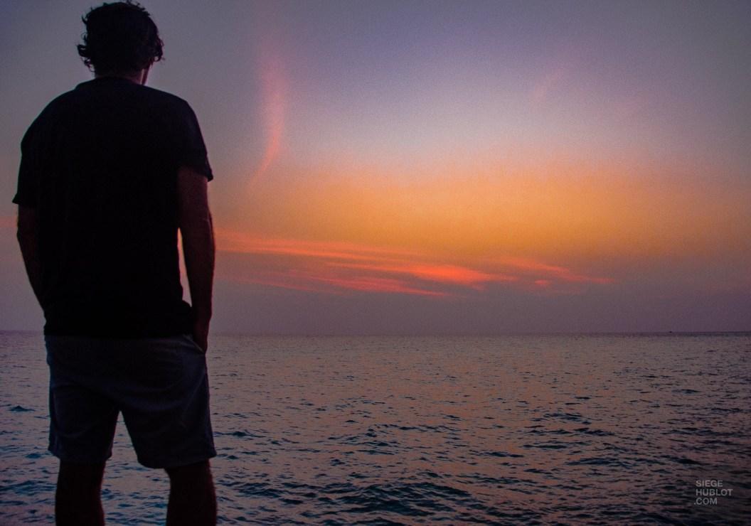 coucher de soleil - maldives 101 - Les Maldives, le grand luxe en plein ocean Indien. - Asie, Maldives