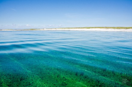 eau turquoise - Escapade l Archipel de Mingan, Cote-Nord, Quebec - Quebec