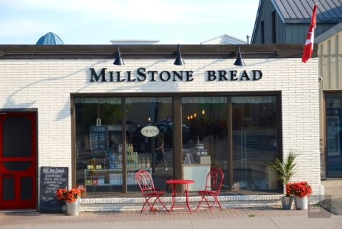 Boulangerie Milestone Bread de Cobourg - Ontario's Feel Good Town - Road trip - Amérique du Nord, Canada