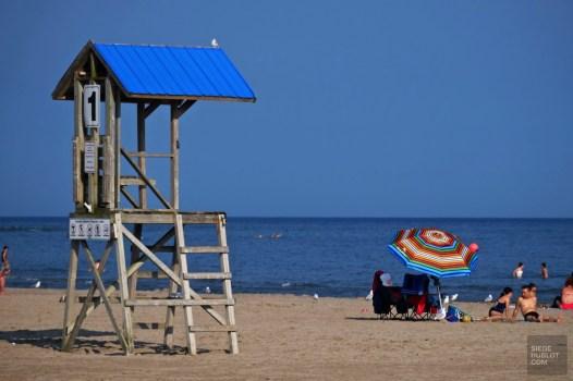 La plage de Cobourg - Ontario's Feel Good Town - Road trip - Amérique du Nord, Canada