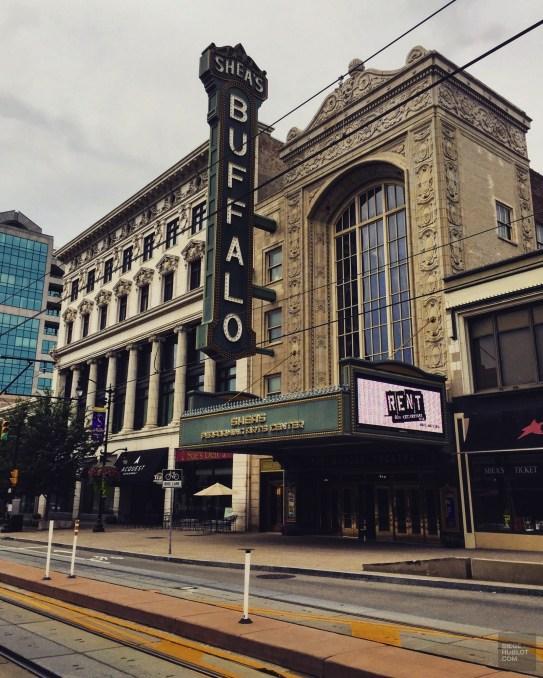 Salle de spectacle Shea's, comédies musicales à Buffalo -ville de nickel et d'architecture - Road trip en Ontario - Amérique du Nord, Canada
