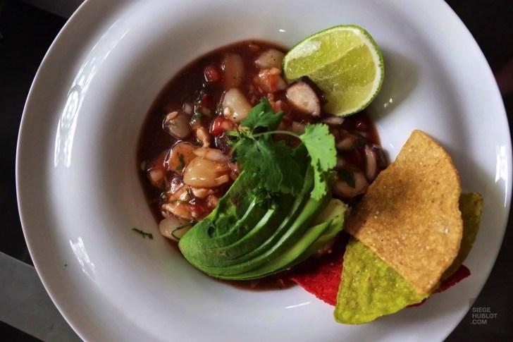 un ceviche frais - Cours de cuisine - Un Paradisus à Playa Del Carmen - Amérique du Nord, Mexique