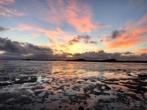 coucher de soleil mer borgarnes - La péninsule de Snaefellsnes et Borgarnes - Islande en 8 jours - Islande, Europe