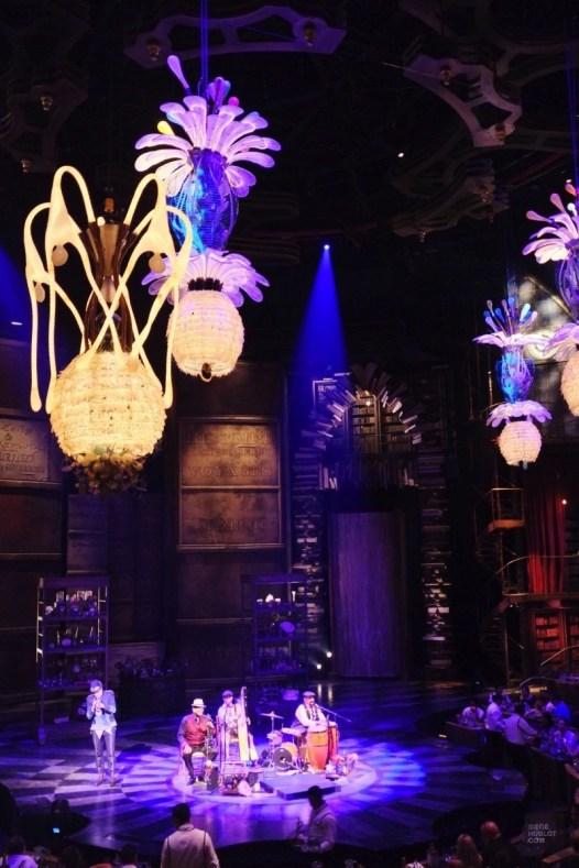 extrait spectacle - Le Cirque du Soleil sous les palmiers - Un Paradisus à Playa Del Carmen - Amérique du Nord, Mexique