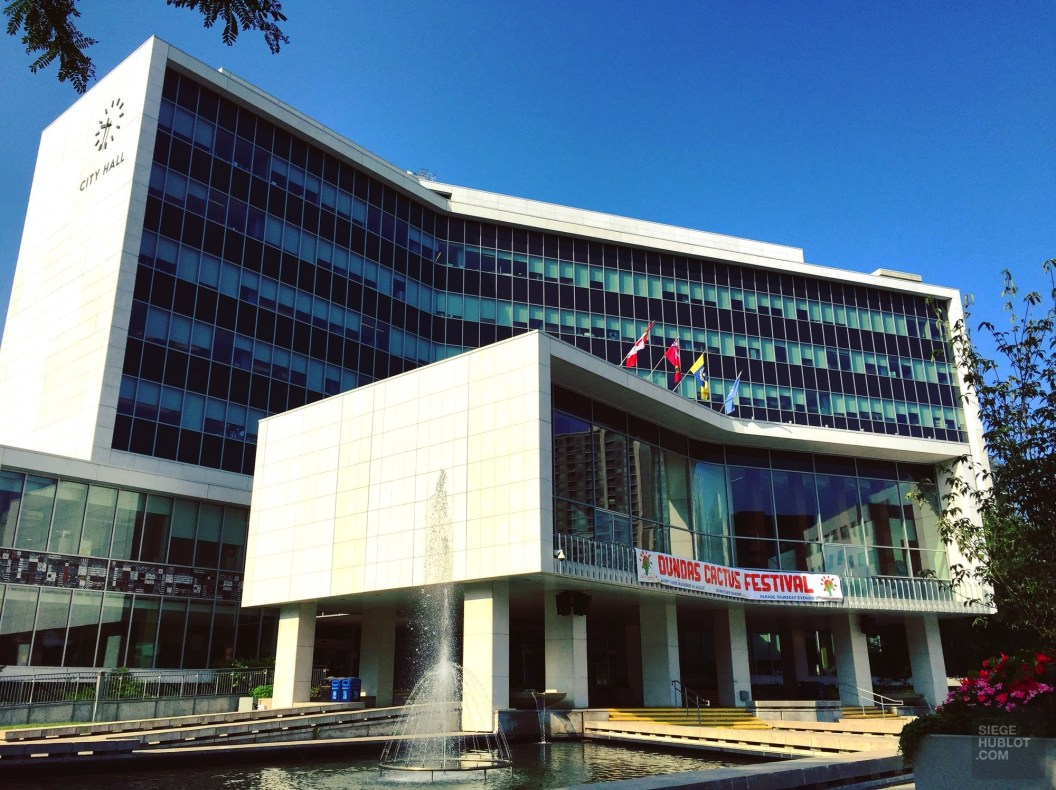Hamilton, hôtel de ville - L'ambitieuse - Road trip en Ontario - Amérique du Nord, Canada