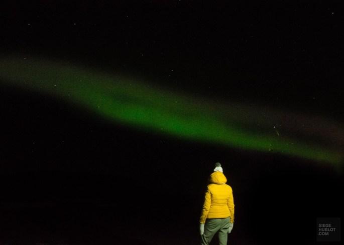 aurore boreale 1 - Akureyri, lac Myvatn, Hverir, Godafoss - Islande en 8 jours - Islande, Europe