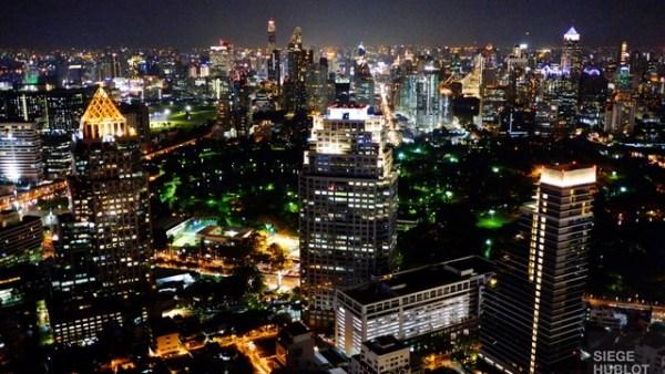 Bangkok la nuit - L'hôtel Well à Bangkok - Asie, Thaïlande
