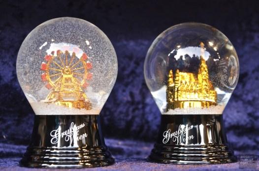 Boules de neige - Vienne, Autriche - Marchés de Noël - Europe, Autriche, République tchèque, Slovaquie