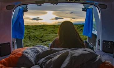 campervan vik environs islande europe