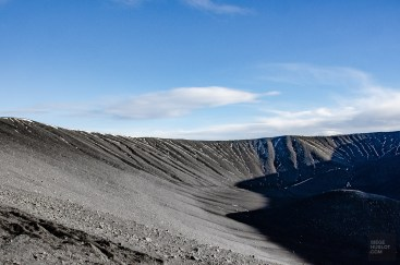 interieur cratere Hverfjall - Akureyri, lac Myvatn, Hverir, Godafoss - Islande en 8 jours - Islande, Europe