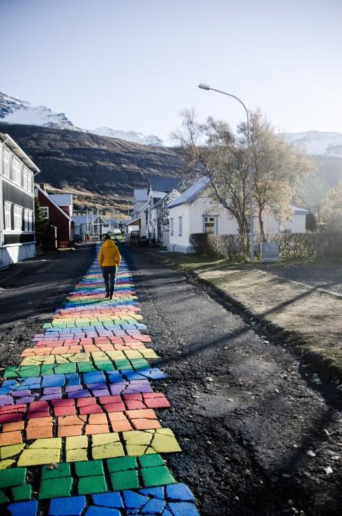 marche village - Dettifoss, Seydisfjordur et la route de l'est - Islande en 8 jours - Islande, Europe