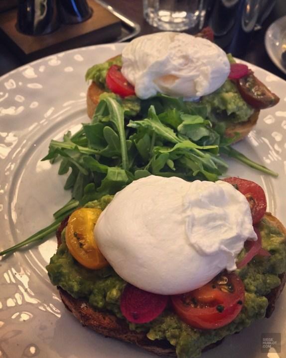 Plat déjeuner Boulud Toronto - Déjeuner chez Boulud - Week-end de gars à Toronto - Amérique du nord, Canada
