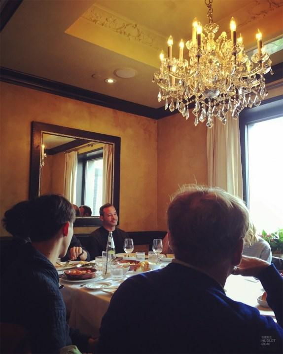 Table au Sotto Sotto - Lunch au Sotto Sotto - Week-end de gars à Toronto - Amérique du nord, Canada