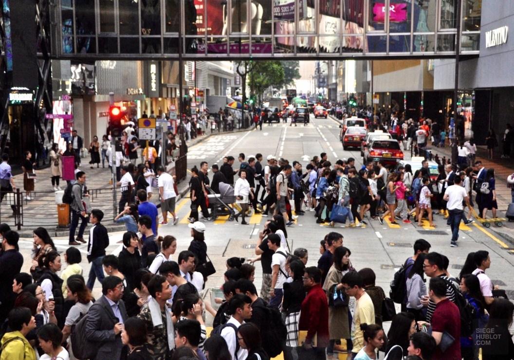 Canton Road - Balade en autobus - Séjour à Hong Kong - Asie, Chine